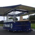 Fahnenbruck tapwagen Sunbar zonder koelruimte