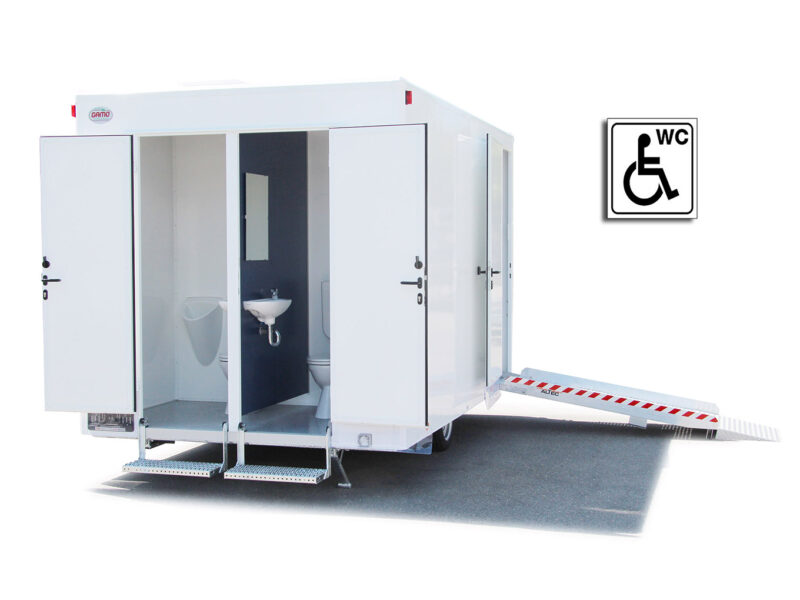 GAMO toiletwagen gehandicapten