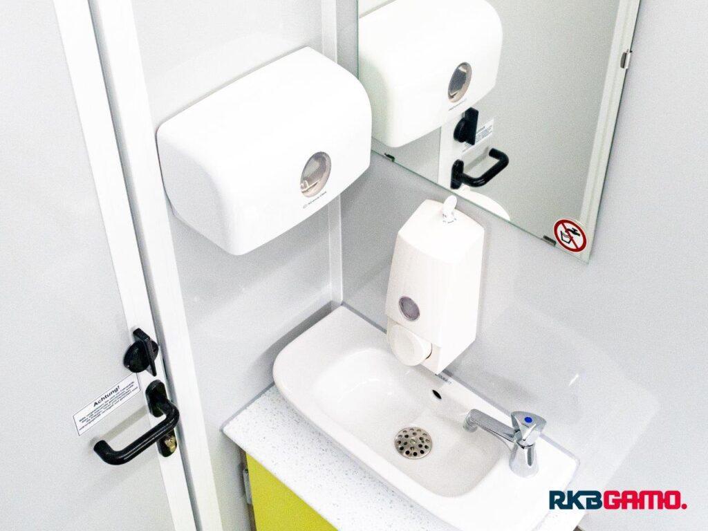 GAMO FTT230 toiletwagen wastafel