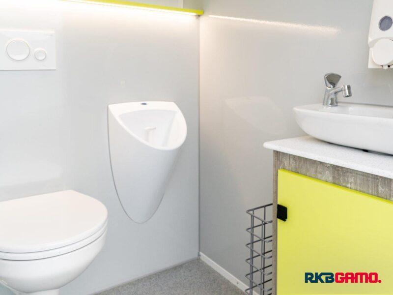 GAMO FTT230 toiletwagen herentoilet waterloos urinoir