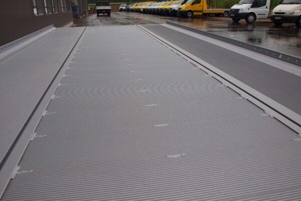 Aluminium tussenvloer