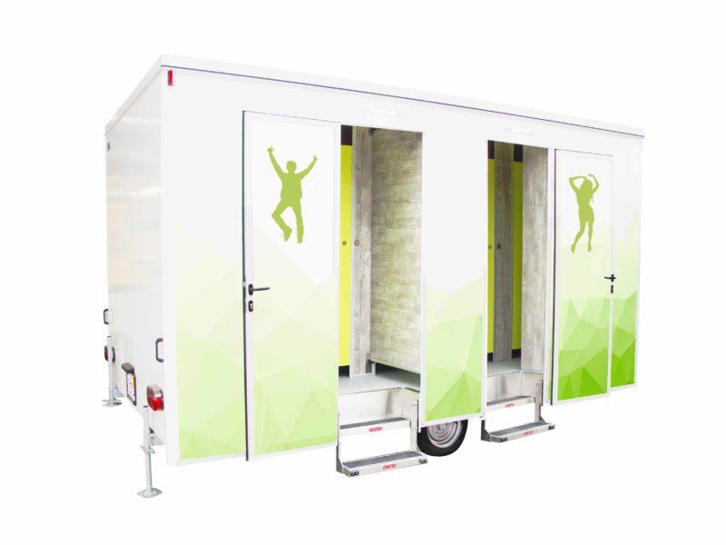 toiletwagen wc-unit douchewagen