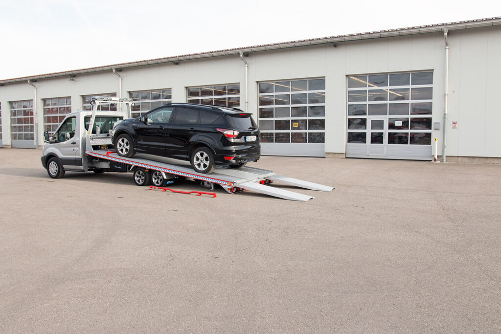 Algema Fitzel Autotransporter Speeder 2 Ford Transit