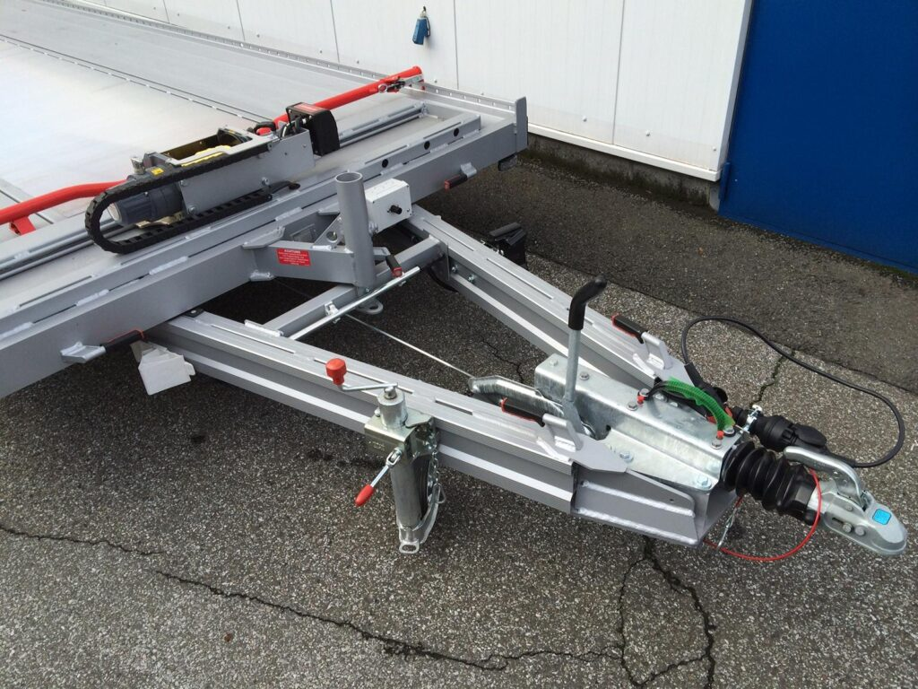 Algema Fit-Zel Unitrans autotransporter dissel en verstelbare lier