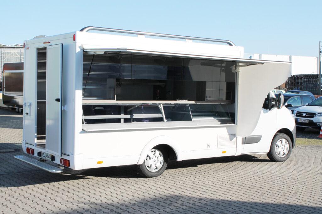 GAMO Back-Master 380 bakkersverkoopwagen met verkoopklep