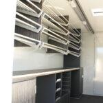 GAMO Back-Master 380 bakkersverkoopwagen broodplanken in aluminium