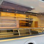 GAMO Back-Master 380 verkooptoonbank aanzicht van achterzijde