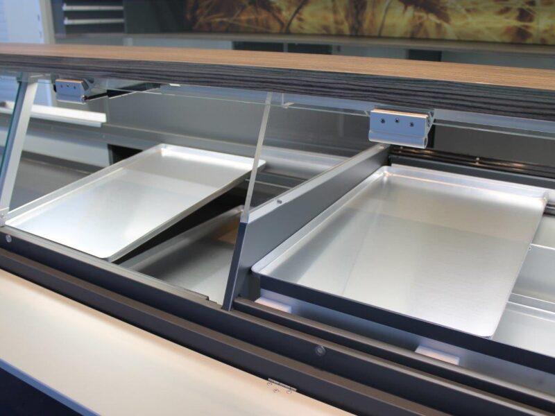 GAMO Back-Master 380 bakkersverkoopwagen vitrine met baknormplaten