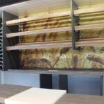 GAMO Back-Master 380 bakkersverkoopwagen broodplanken tegen achterwand