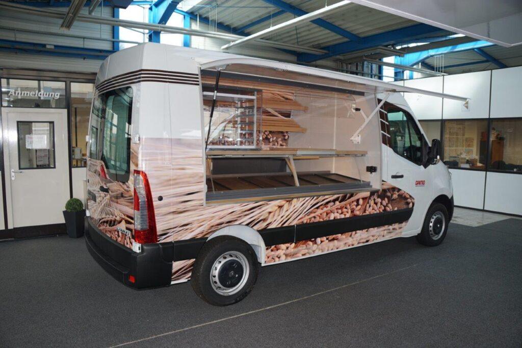 GAMO Back-Master 280 bakkersverkoopwagen