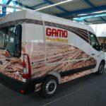 GAMO Back-Master 280 bakkersverkoopwagen met zijklep gesloten