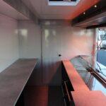 GAMO Fresh_Master 460 verkoopwagen met gekoelde vitrine: interieuraanzicht