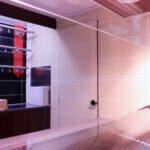 GAMO Fresh_Master 460 verkoopwagen met gekoelde vitrine: doorgang naar cabine