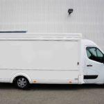 GAMO Fresh_Master 460 verkoopwagen met koeltoonbank gesloten verkoopklep