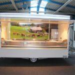 GAMO Fresh-Trailer 380 verkoopwagen met koelvitrine