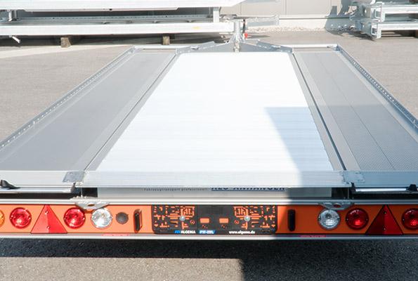Aluminium tussenvloer FIT-ZEL EURO kantelbare autotransporter