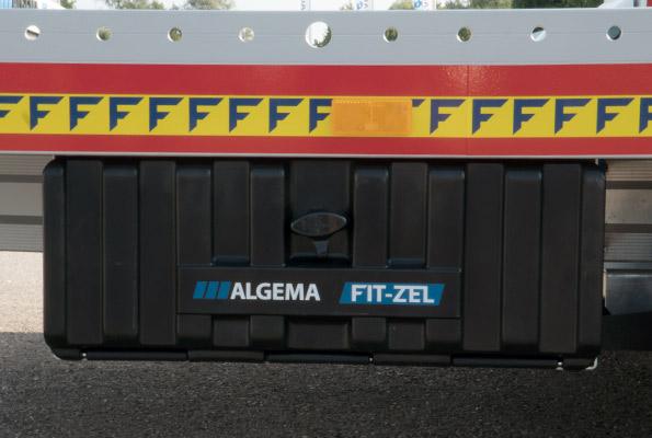Opbergkist voor spanbanden FIT-ZEL EURO kantelbare autotransporter