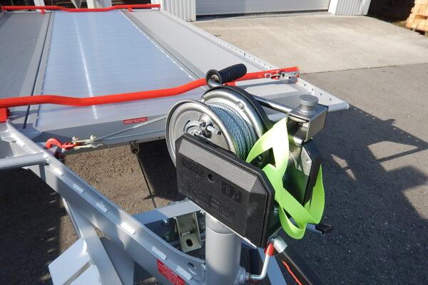 Handlier op steun FIT-ZEL EURO kantelbare autotransporter