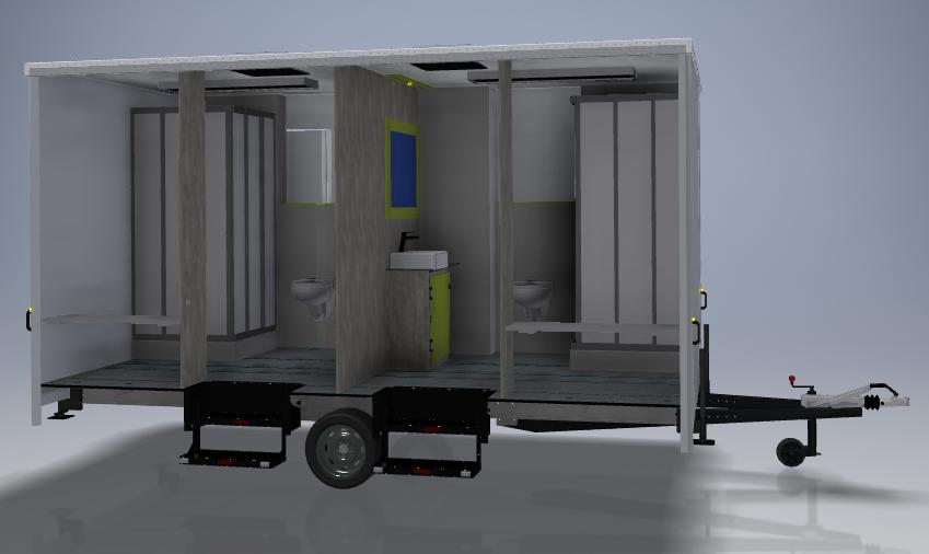 GAMO badkamer aanhangwagen 01