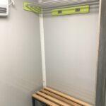 GAMO badkamer aanhangwagen omkleed bankje