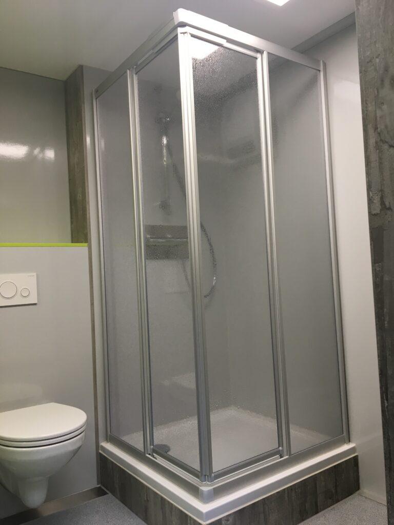 GAMO badkamer aanhangwagen douche cabine