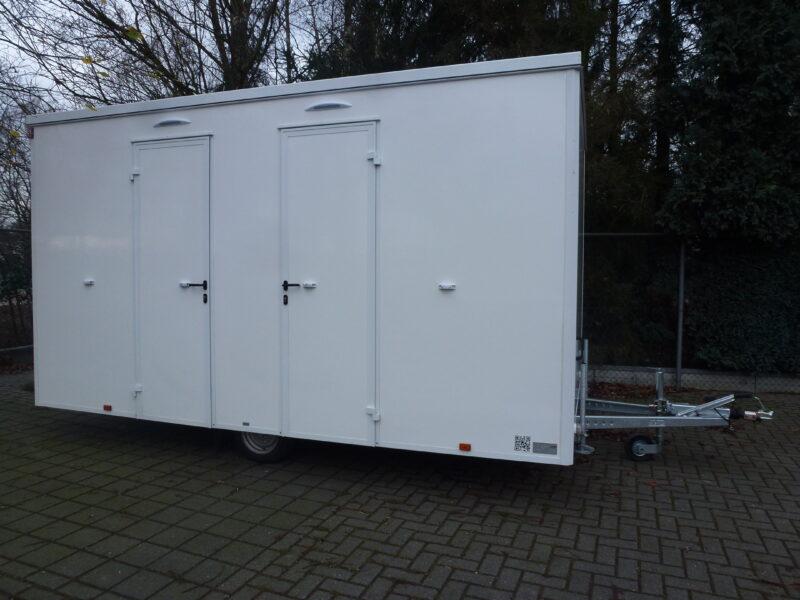 FTD460 Badkamer aanhangwagen