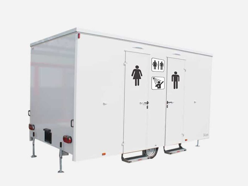 GAMO badkamer aanhangwagen