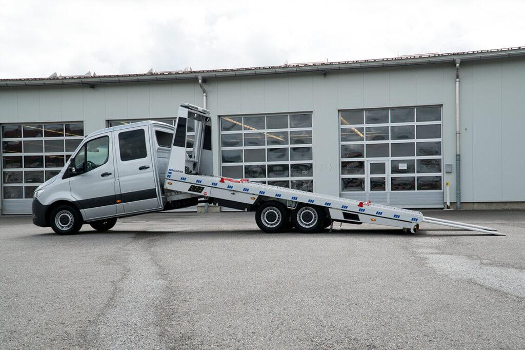 ALGEMA Blitzlader 2 MB Sprinter Dubbele Cabine oprijwagen