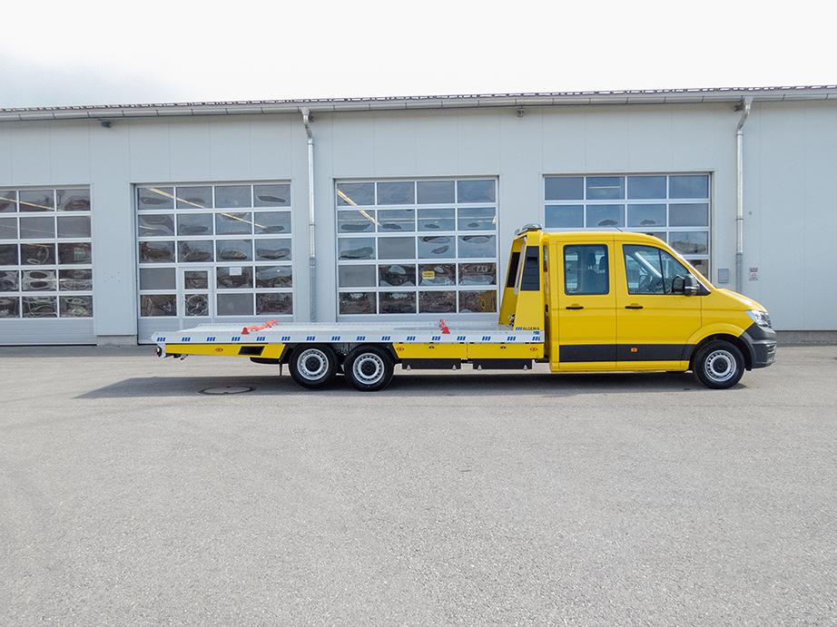 ALGEMA Blitzlader 2 VW Crafter Dubbele Cabine oprijwagen